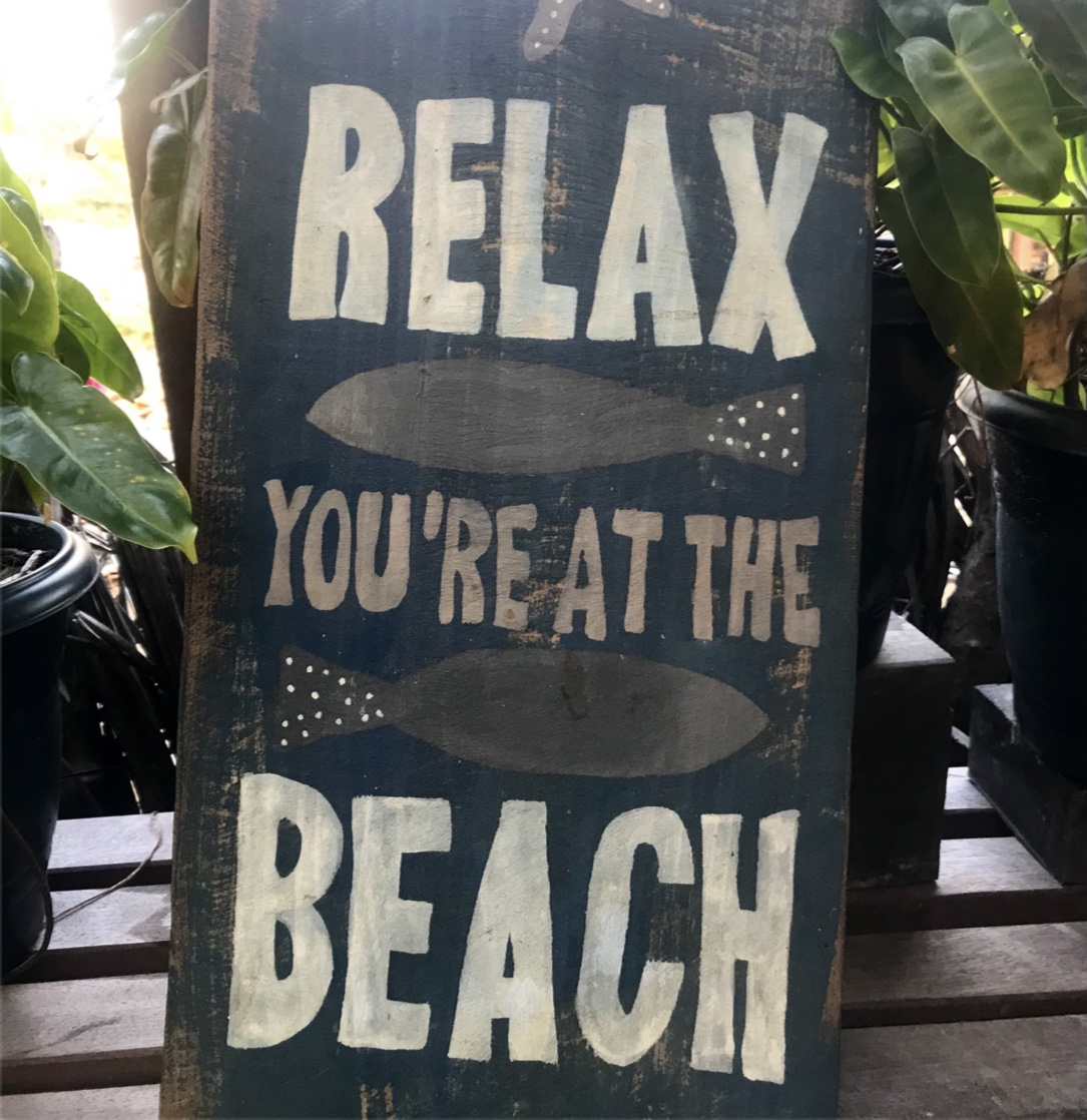Relax you're at the Beach